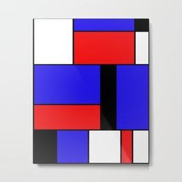 Mondrian #69 Metal Print