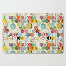 Math in color (little) Cutting Board