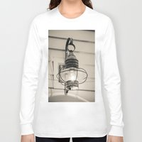 lantern Long Sleeve T-shirts featuring Vintage Lantern by Redhedge Photos