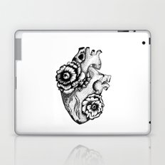 Floral heart II. Laptop & iPad Skin