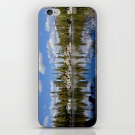 mosquito lake reflections iPhone Skin