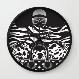 Marc Jacobs Close Wall Clock