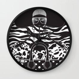Marc Jacobs Close Wall Clock