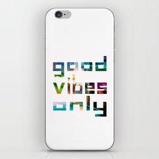 good vibes only // Coachella iPhone & iPod Skin