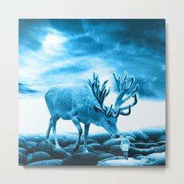 Big Deer Metal Print