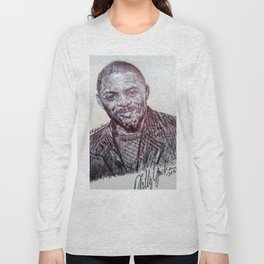 IDRIS ELBA Long Sleeve T-shirt