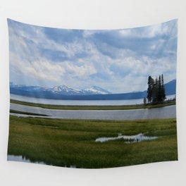 Pelican Creek - Yellowstone Lake Wall Tapestry