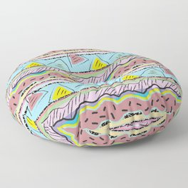 Postmodern Rocky Road Floor Pillow