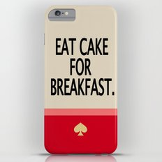 Kate Spade Inspired Eat Cake For Breakfast iPhone 6 Plus Slim Case