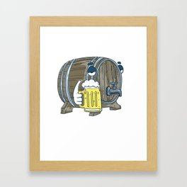I'd Tap That | Beer Brewery Brewer Framed Art Print