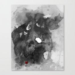 Old Man Chaos Canvas Print