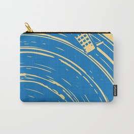 blues vinyl Carry-All Pouch