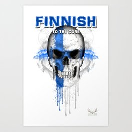 To The Core Collection: Finland Art Print