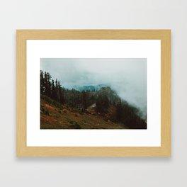 Park Butte Lookout - Washington State Framed Art Print