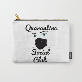 QuarantineSocialClub Carry-All Pouch