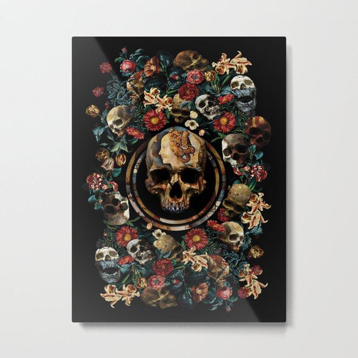 SIMONETTA IANVENSIS VESPVCCIA Metal Print