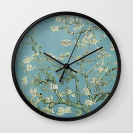 Vincent van Gogh - Almond Blossoms 1890 Wall Clock