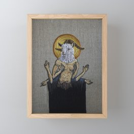 Strange Ritual Framed Mini Art Print