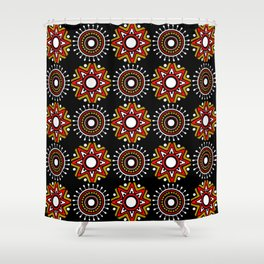 Afrocentric Fusion V Shower Curtain