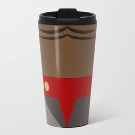 Worf - Minimalist Star Trek DS9 Deep Space Nine - Lieutenant Commander - startrek - Trektangles Travel Mug