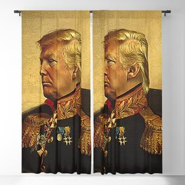 God Emperor Trump Blackout Curtain