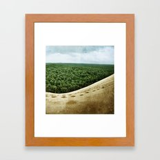 Beyond the Sand Dune Framed Art Print