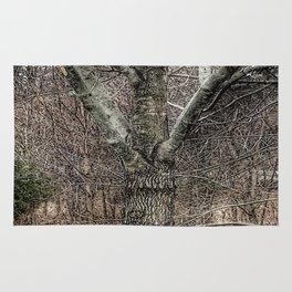 """""""Tree Hugs"""" Rug"""
