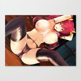 Rakudai Kishi no Cavalry Stella Vermillion Canvas Print