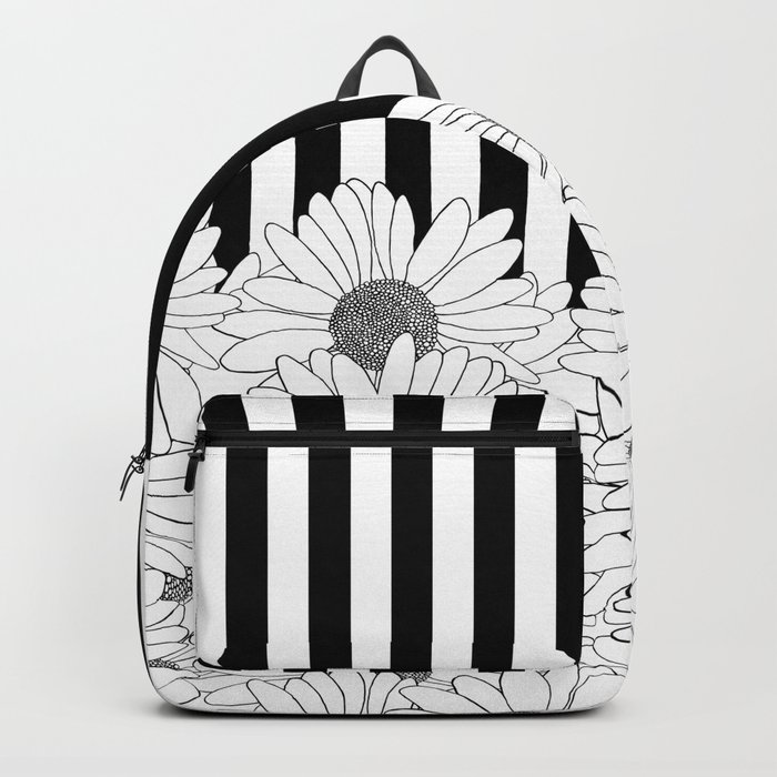 Daisy Stripe Backpack