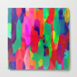 Colorful watercolors Metal Print