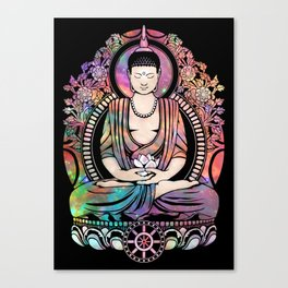 Cosmic Gautama Buddha Canvas Print