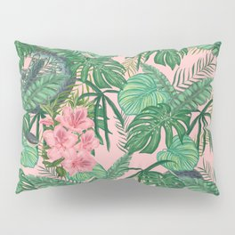 Serpents and Flowers Pillow Sham