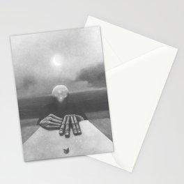 Untitled (The Game) by Zdzisław Beksiński Stationery Cards