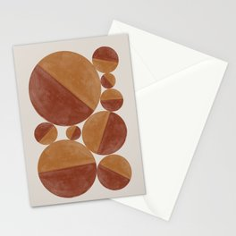 Abstract balls Stationery Cards