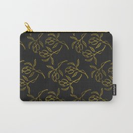 Golden olive branches Carry-All Pouch