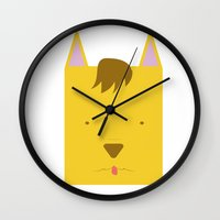 sam smith Wall Clocks featuring Sam by Pala design