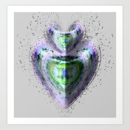 Spiritual Shield Art Print