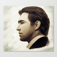 lee pace Canvas Prints featuring Lee Pace by LindaMarieAnson