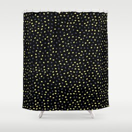 abstract background with seeds Shower Curtain