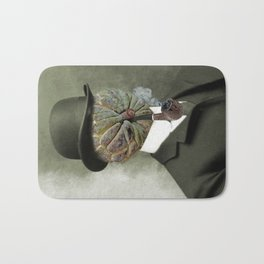 Sir Custard Bowler Bath Mat