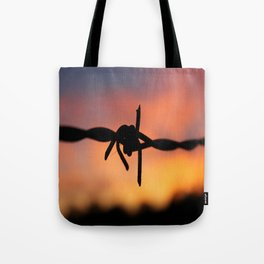 Barbed Silhouette Tote Bag