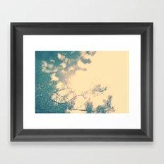 Sunny daze Framed Art Print