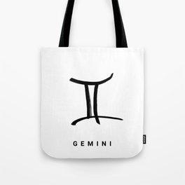 KIROVAIR ASTROLOGICAL SIGNS GEMINI #astrology #kirovair #symbol #minimalism #horoscope #zwilling #ho Tote Bag