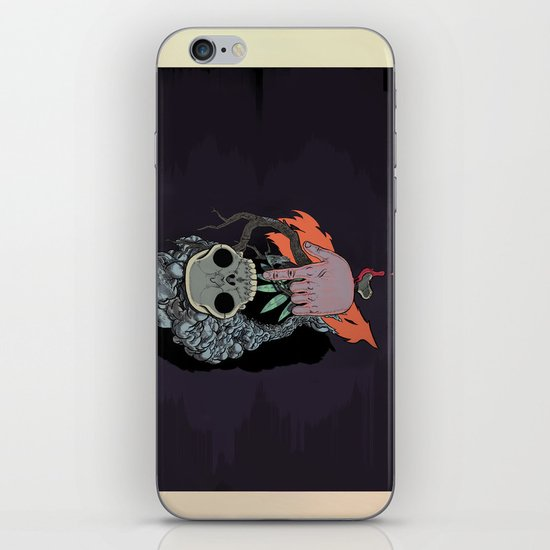 """Body Music"" by Justin Hopkins iPhone & iPod Skin"