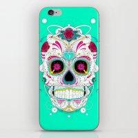 calavera iPhone & iPod Skins featuring Calavera by yoaz