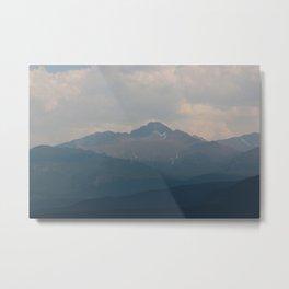 Rocky Mountains Metal Print