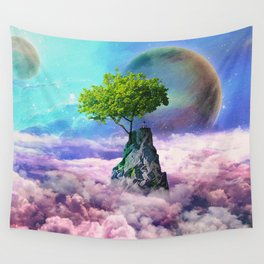 spectator of worlds Wall Tapestry