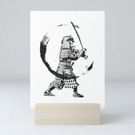Swinging Samurai  Mini Art Print