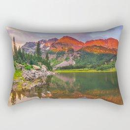 Rocky Mountain Glow Rectangular Pillow