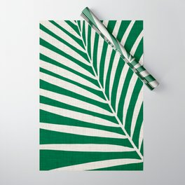 Minimalist Palm Leaf Wrapping Paper